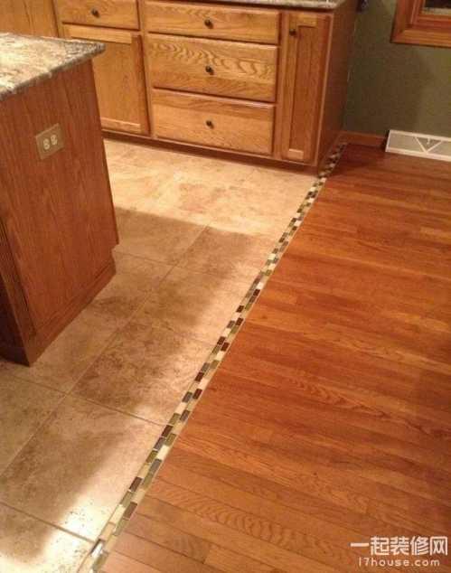 瓷砖和地板无缝对接 一边地砖一边地板